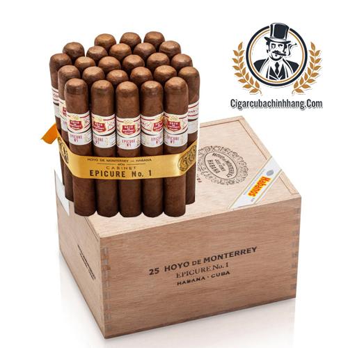 Hoyo De Monterrey Epicure No.1 - Hộp 25 điếu - cigarcubachinhhang.com