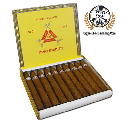 Montecristo No.2 - Hộp 10 điếu - cigarcubachinhhang.com