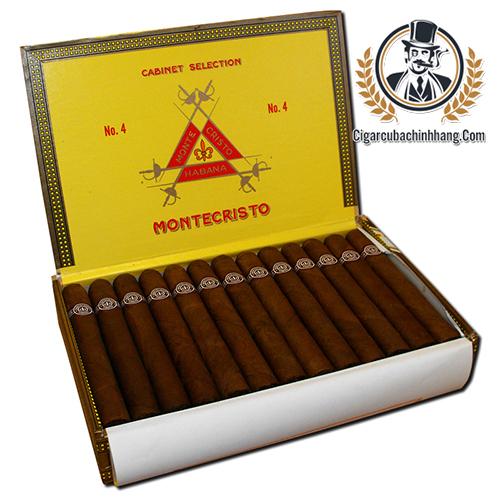 Montecristo No.4 - Hộp 25 điếu - cigarcubachinhhang.com