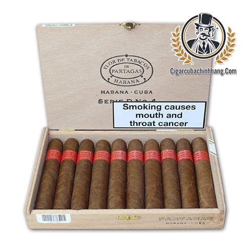 Partagas Serie D No.4 - Hộp 10 điếu - cigarcubachinhhang.com