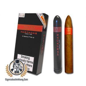 Partagas Serie P No.2 Tubos - Hộp 03 điếu - cigarcubachinhhang.com