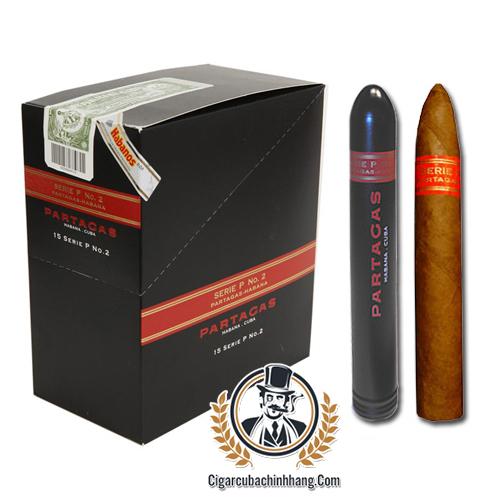 Partagas Serie P No.2 Tubos - Hộp 15 điếu - cigarcubachinhhang.com