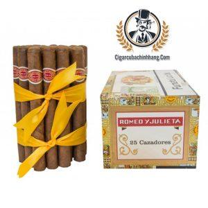 Romeo Y Julieta Cazadores - Hộp 25 điếu - cigarcubachinhhang.com
