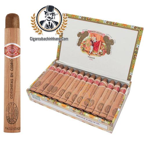 Romeo Y Julieta Coronitas en Cedro - Hộp 25 điếu - cigarcubachinhhang.com