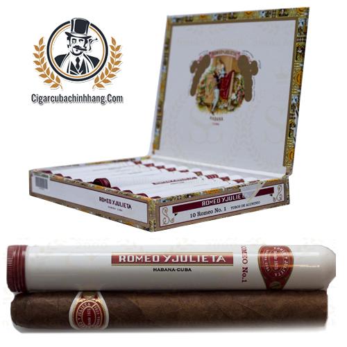 Romeo Y Julieta Romeo No.1 Tubos - Hộp 10 điếu - cigarcubachinhhang.com