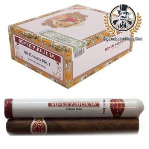 Romeo Y Julieta Romeo No.1 Tubos - Hộp 25 điếu - cigarcubachinhhang.com