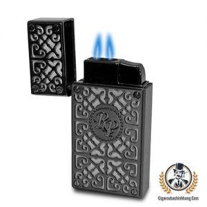 Bật lửa Rocky Patel Burn màu đen - cigarcubachinhhang.com