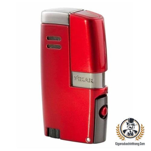 Bật lửa Xikar Vitara màu đỏ - cigarcubachinhhang.com