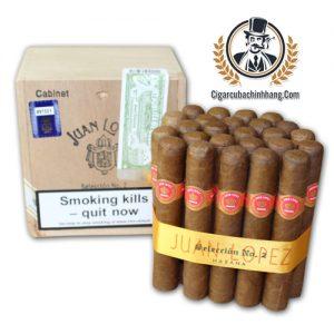 Xì gà Juan Lopez Seleccion No. 2 - Hộp 25 điếu - cigarcubachinhhang.com