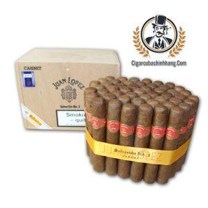 Xì gà Juan Lopez Seleccion No. 2 Cigar - Hộp 50 điếu - cigarcubachinhhang.com