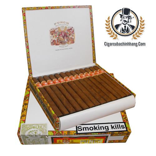 Xì gà Punch Double Coronas - Hộp 25 điếu - cigarcubachinhhang.com