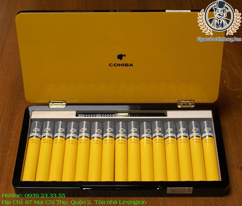 Cohiba Siglo VI Tubos - Hộp 15 điếu
