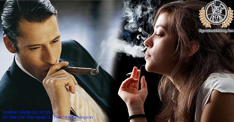 khác nhau giữa xì gà và thuốc lá