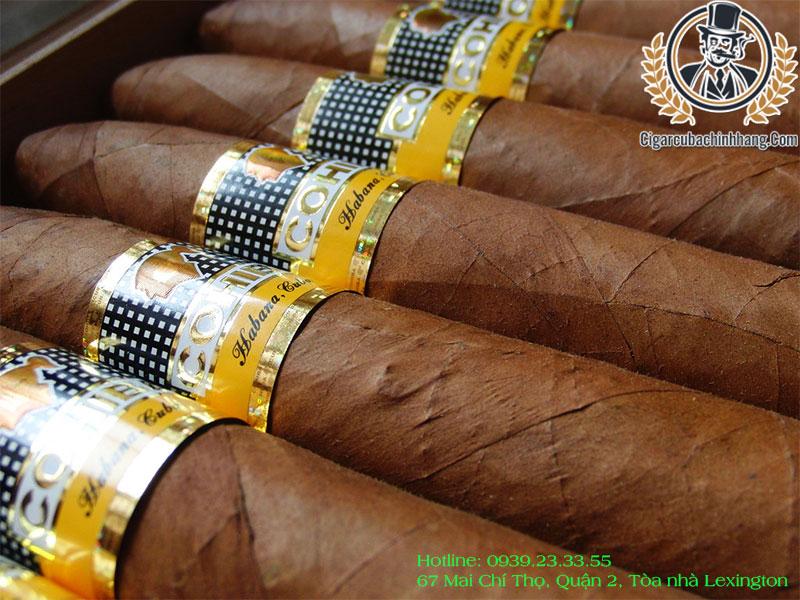 Xì gà Cohiba giá bao nhiêu