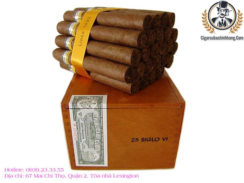Cohiba Siglo VI - Hộp 25 điếu
