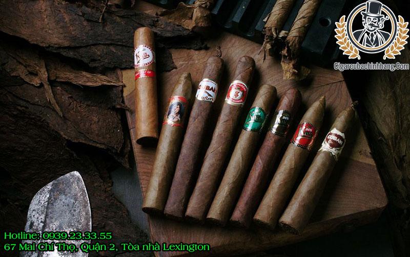 xì gà Cuba loại nào ngon nhất